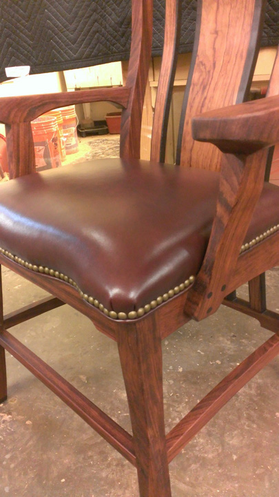 Sabine Chair Seat Detail