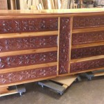 The Teak and Mahogany Cabinet is a favorite of many of our customers.