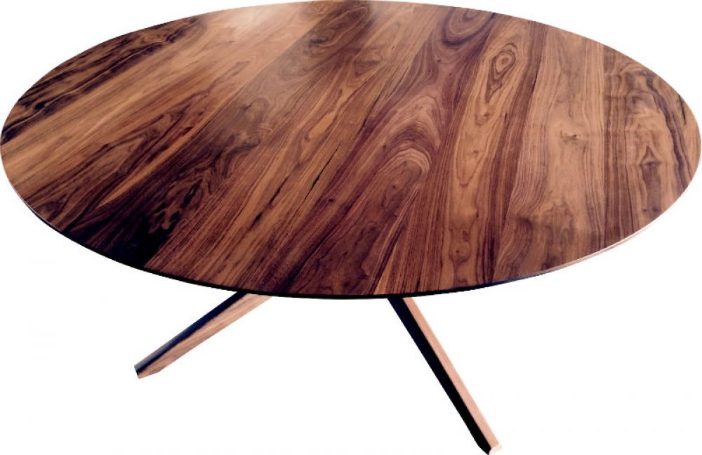Round Pecos Table by Austin Joinery