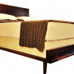 This is a photo of Austin Joinery's Mid Century Bed.