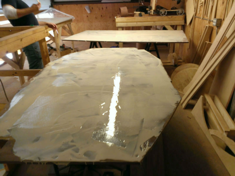 This is an image of the Pecos Oval Dining Table build