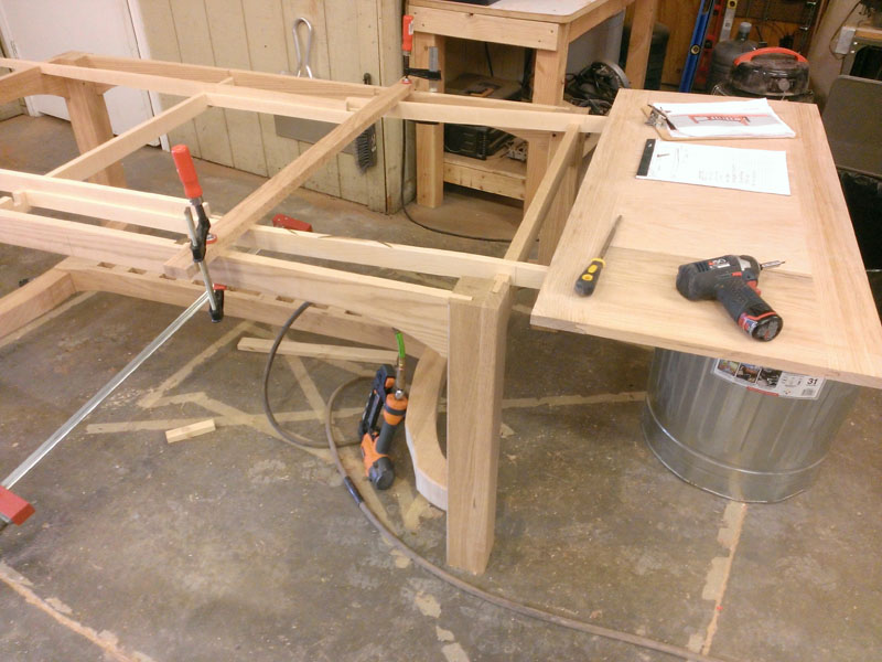 Image of how it's made: Colorado Dining Table by Austin Joinery