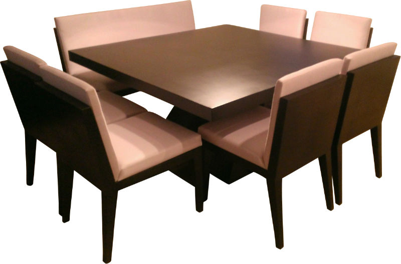 This is an image of our Custom Modern Dining Set