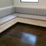 This is an image of our Custom Banquette built in sunny Austin, Texas!
