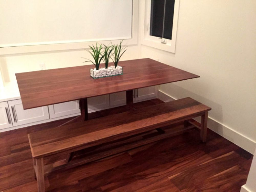 Pecos Table Bench by Austin Joinery