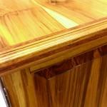 Custom Teak Cabinet by Austin Joinery