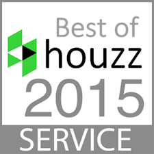 Austin Joinery won the 2015 Houzz Best of Service award for it's custom furniture.